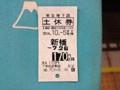 東京メトロ 回数券 土休券