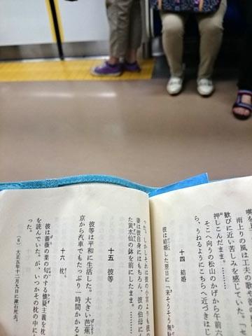 電車内 読書