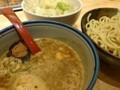 銀四郎 特製つけ麺 野菜増し