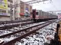 160118 東京 積雪 東急目黒線