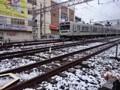 160118 東京 積雪 東急池上線