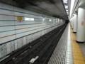 地下鉄ホーム 東京メトロ 銀座線 赤坂見附駅