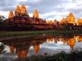 カンボジアの風景 アンコールワット