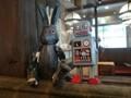 ウサギ ロボット ディスプレイ