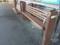 京王井の頭線 ホーム ベンチ