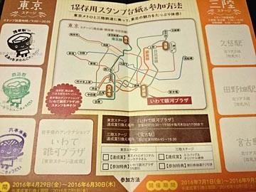 福幸スタンプラリー 三陸鉄道 東京メトロ