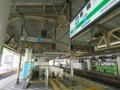 JR新橋駅 エスカレーター