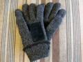 手袋 毛糸 フリース裏地