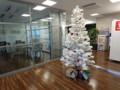 クリスマスツリー 休憩フロア
