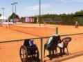 6/23 車椅子国際大会の隣で敬介、一、樹力、尚輝で練習
