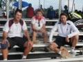 11日目 クロアチアナショナルチームのコーチ達 右がアンドレコーチ