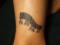 [東京][渋谷][原宿][タトゥー][刺青][画像][デザイン][バーコード][ワンポイント][足]