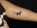 [東京][渋谷][原宿][タトゥー][刺青][画像][デザイン][ネコ][ワンポイント][腕]