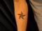 [東京][渋谷][原宿][タトゥー][刺青][画像][デザイン][星][ワンポイント][腕]