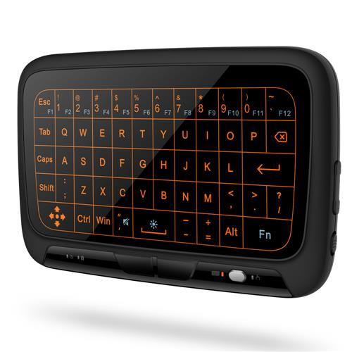 バックライトフルタッチパッドミニワイヤレスキーボード2.4GH
