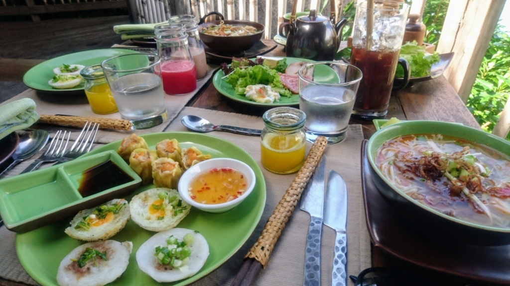 Six Senses Ninh Van Bayの朝食メニュー