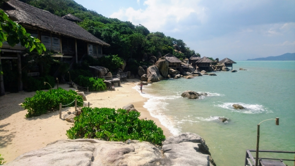 Six Senses Ninh Van Bayの朝食レストランDining by the Bay