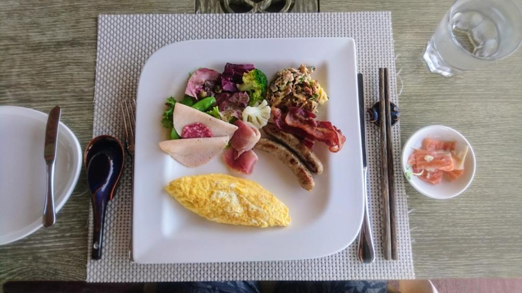 An Lam Retreat Ninh Van Bayの平日宿泊の朝食セット