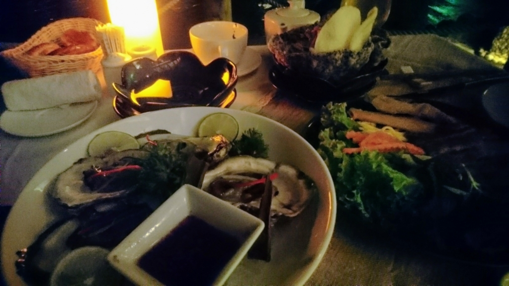 An Lam Retreat Ninh Van Bayの夕食メニュー