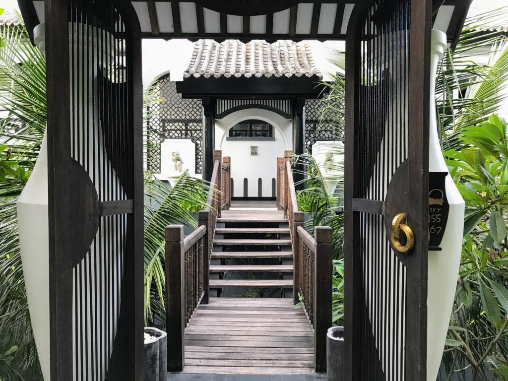 Intercontinetal DanangのSKY部屋の入口