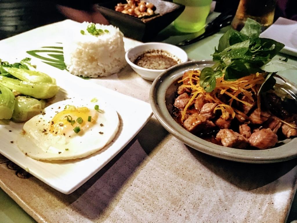 カンボジア料理のロックラック