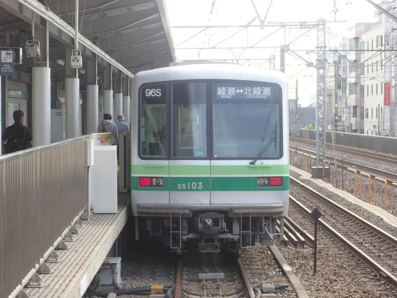 千代田線(北綾瀬支線) 05系 1