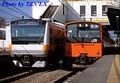 [E233系][201系]新旧オレンジ並び