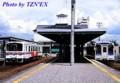 伊万里駅で並ぶ松浦鉄道の気動車