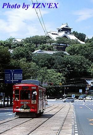 熊本市電1350形1352