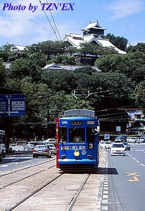 熊本市電1090形1096