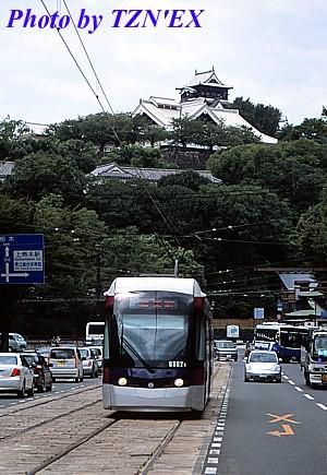 熊本市電0800形