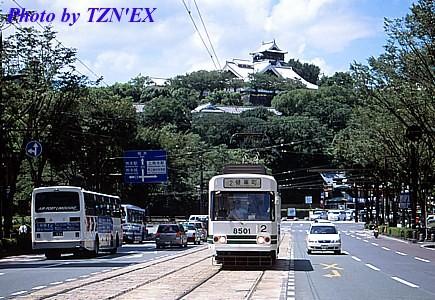 熊本市電8500形8501