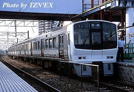 811系「門司港レトロ」ラッピング車
