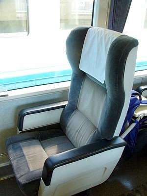 JR四国2000系のグリーン車