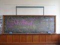 [K-ON]豊郷小学校旧校舎の黒板