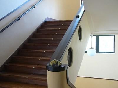 豊郷小学校旧校舎の階段