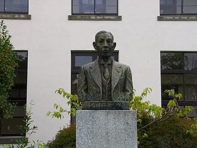 古川鉄次郎の銅像