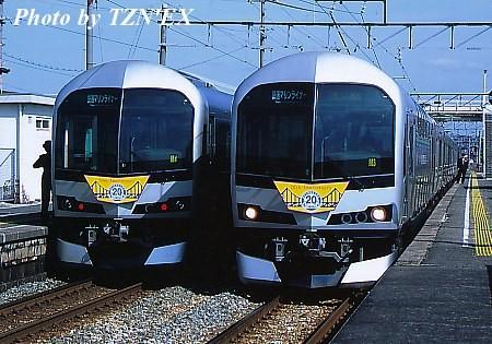 瀬戸大橋線開業20周年記念HM付きマリンライナー