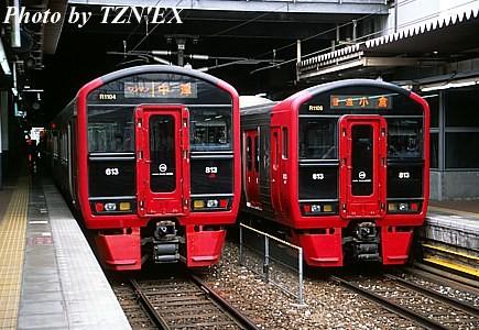 813系1100番台の並び