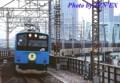 [201系]「ありがとう201系」ヘッドマークつき京葉線201系