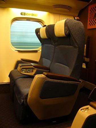 N700系8000番台のグリーン席
