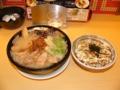 [20111229]豚とろのチャシュー麺、とんみそマヨめし