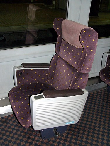 787系のグリーン車座席