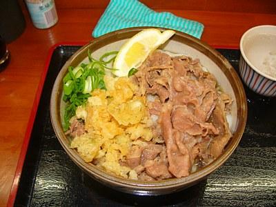 綿谷高松店の肉ぶっかけ小