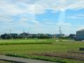 高徳線・三本松付近の車窓風景