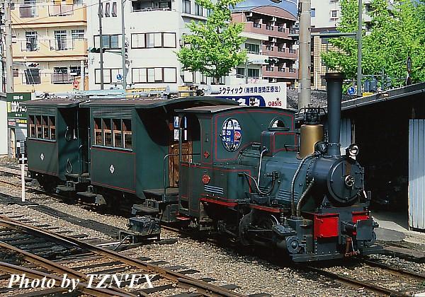 坊っちゃん列車(古町にて)