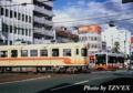 [20120917]大手町での市内電車と郊外電車の交差(2100形と700系)