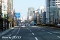 岡山駅前付近の車窓風景