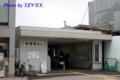 工事中の折尾駅(東口の様子)