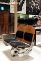 水戸岡鋭治の幸福な鉄道展で展示された817系の座席